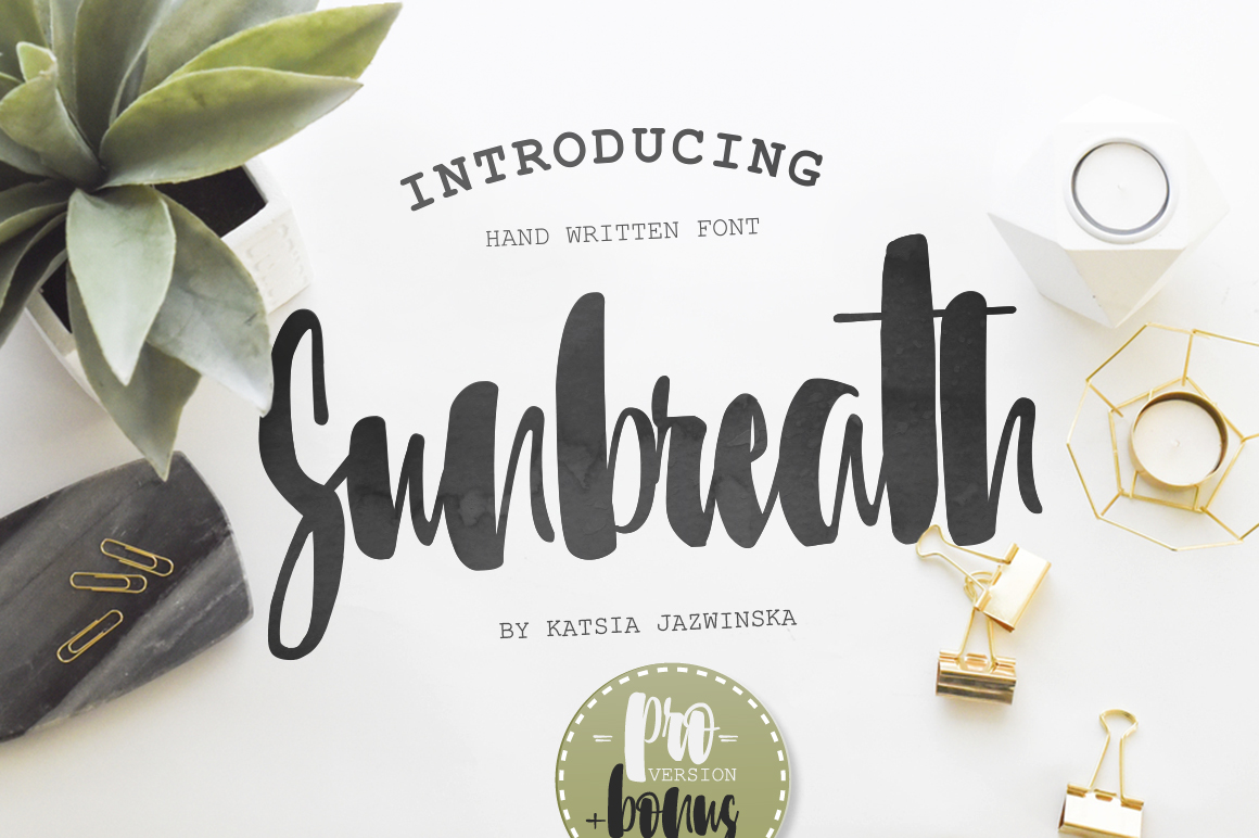 Sunbreath Font