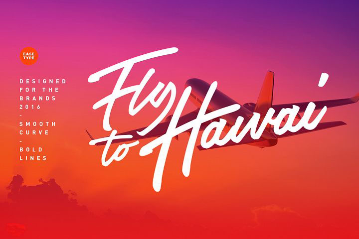 The Airlines Script Font