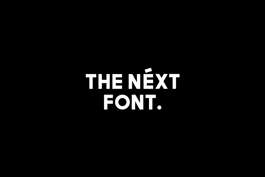 The Next Sans Font