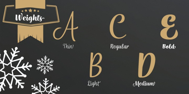 Wreath Font Family - Befonts com
