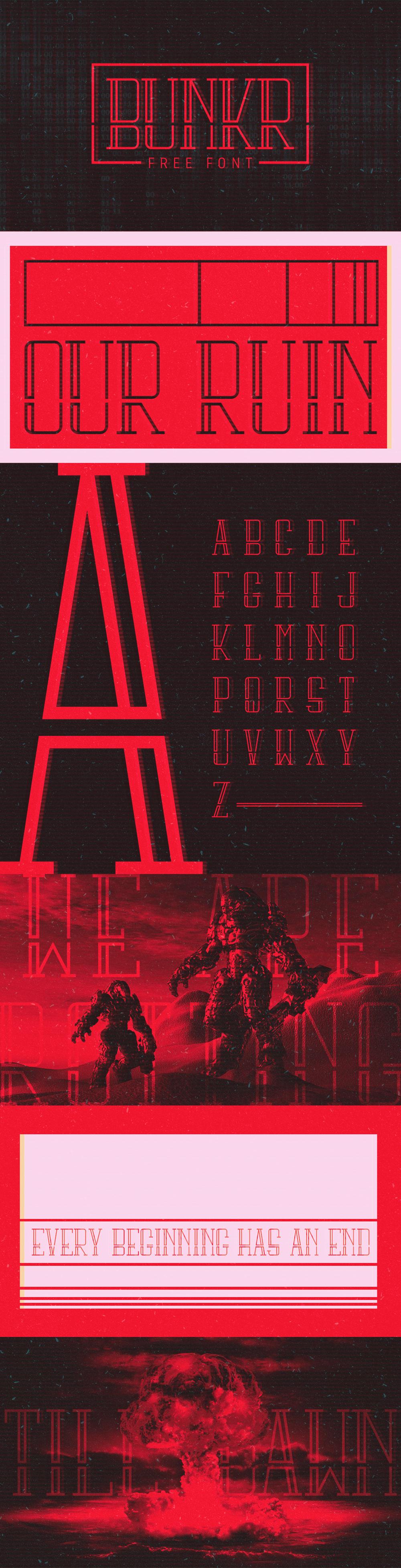 Bunkr Font