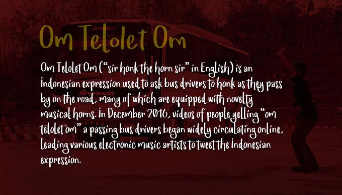Om Telolet Om Font