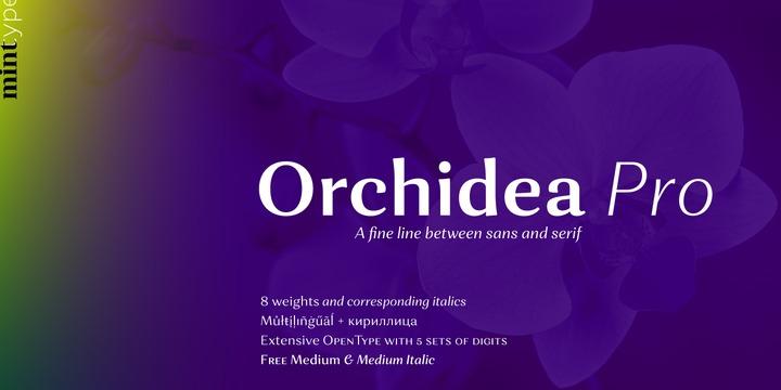 Orchidea Pro Font Family