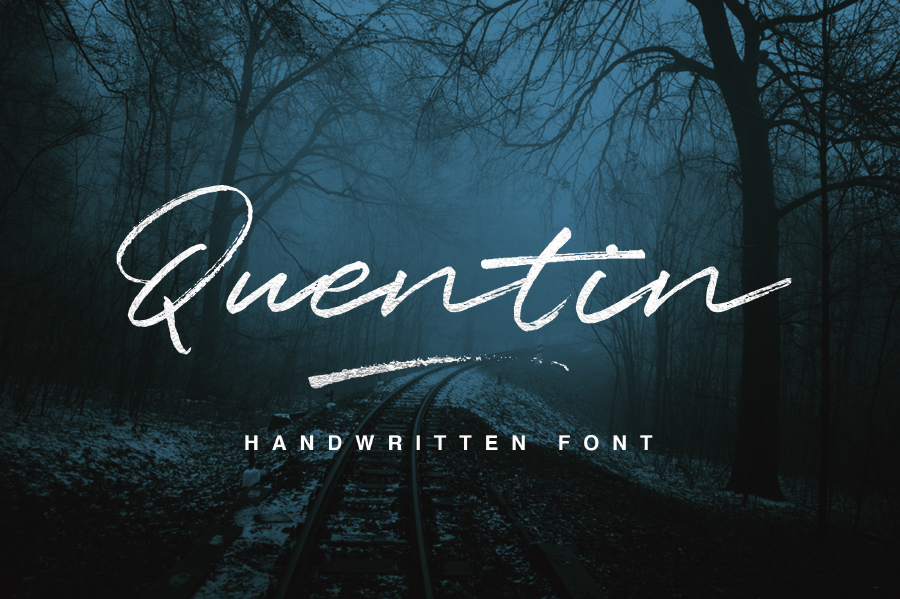Quentin Script Font - Befonts com