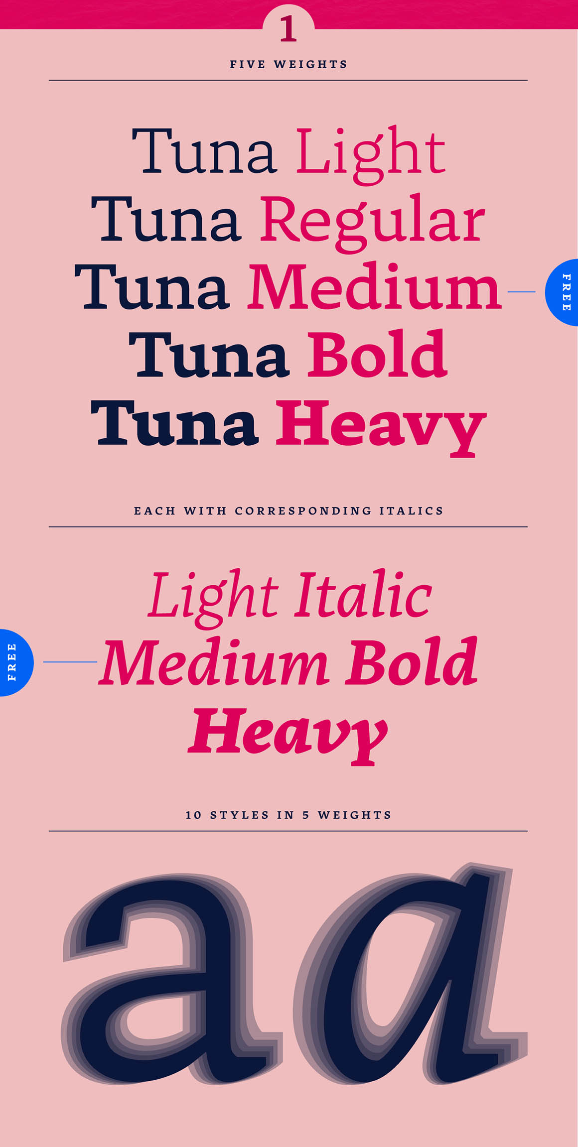 Tuna Font Family
