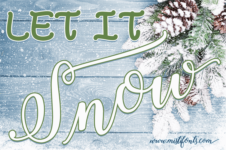 Winter Calligraphy Font