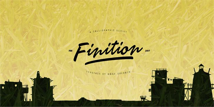 Finition Font