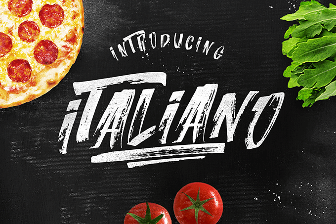 Italiano Brush Font