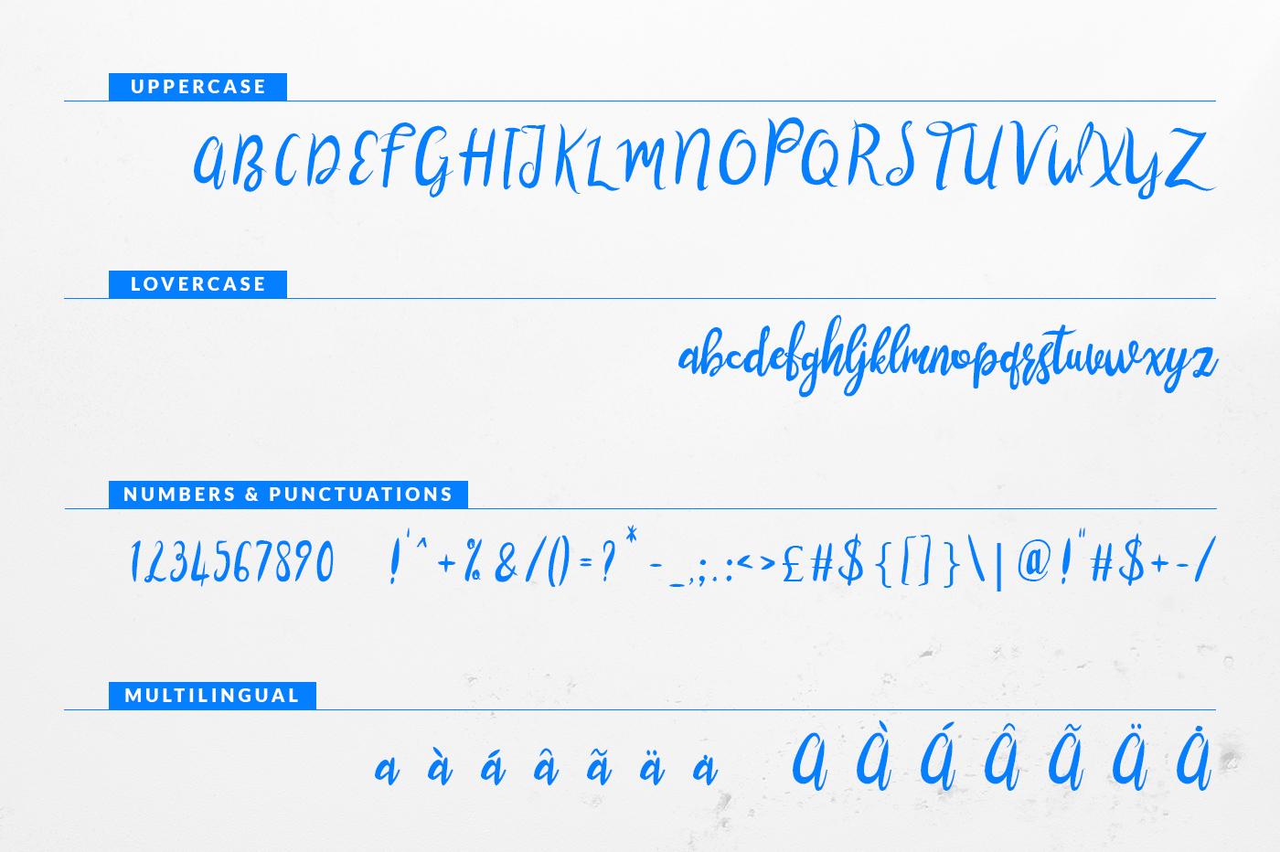 Lustinmal Script Font