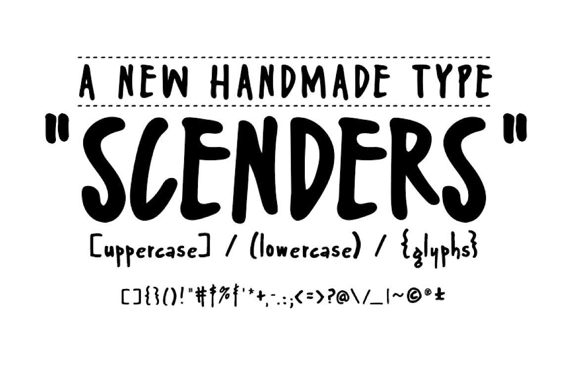 Scenders Script Font