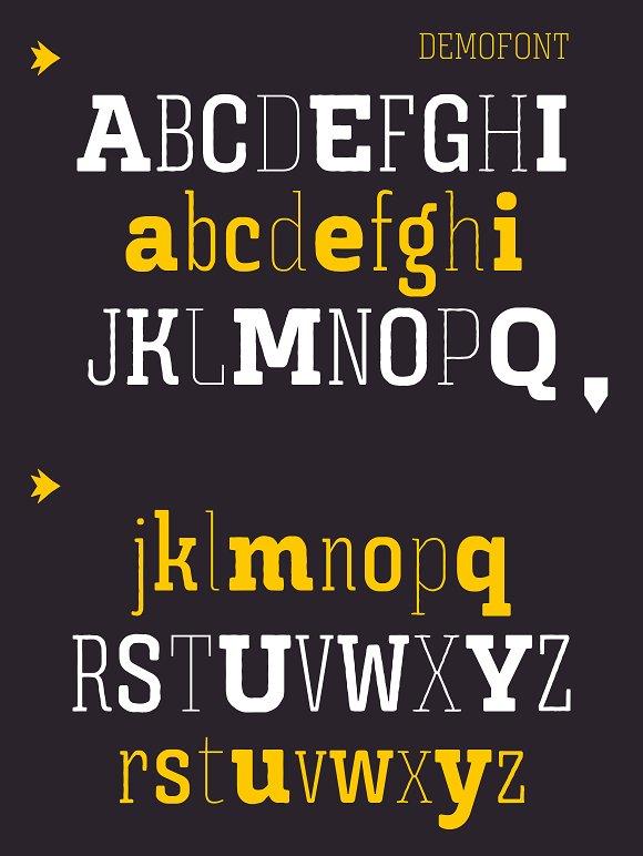 Triunfo Font Family