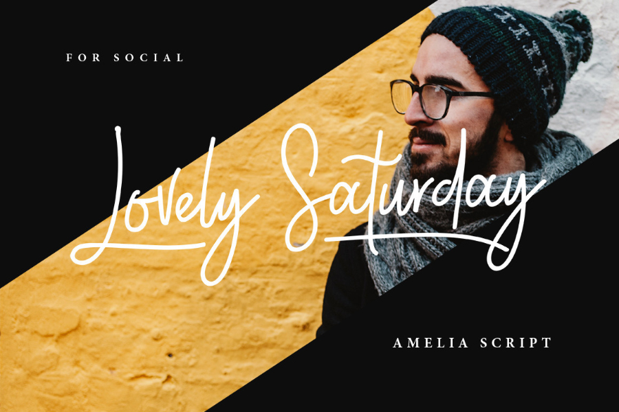 Ameliea Script Font