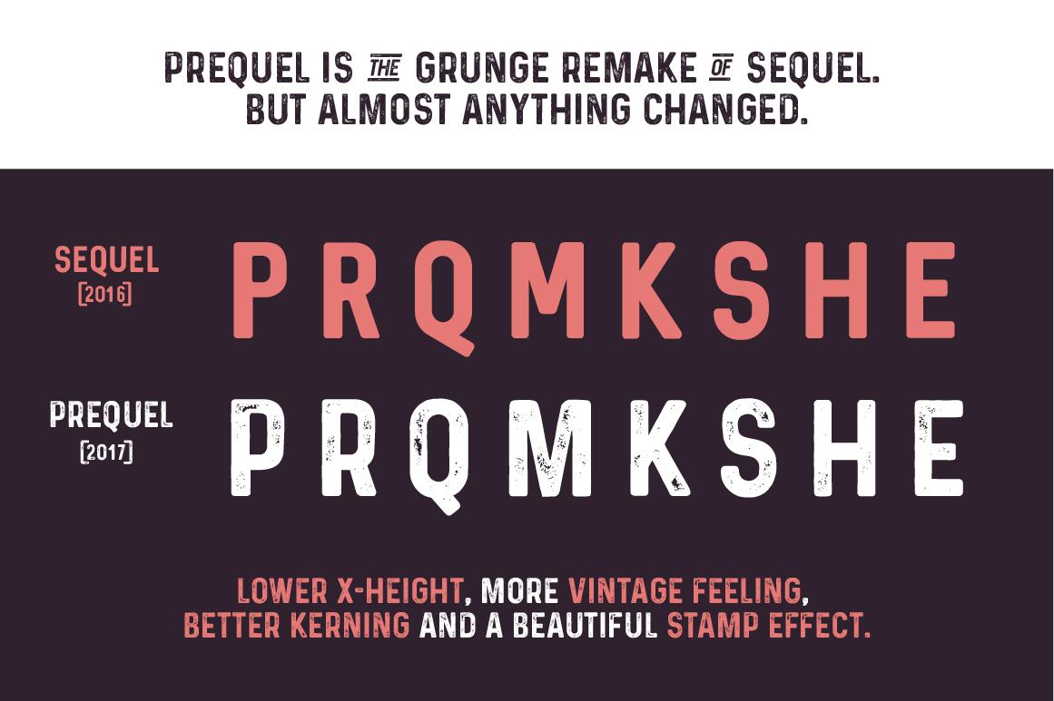 Prequel Typeface