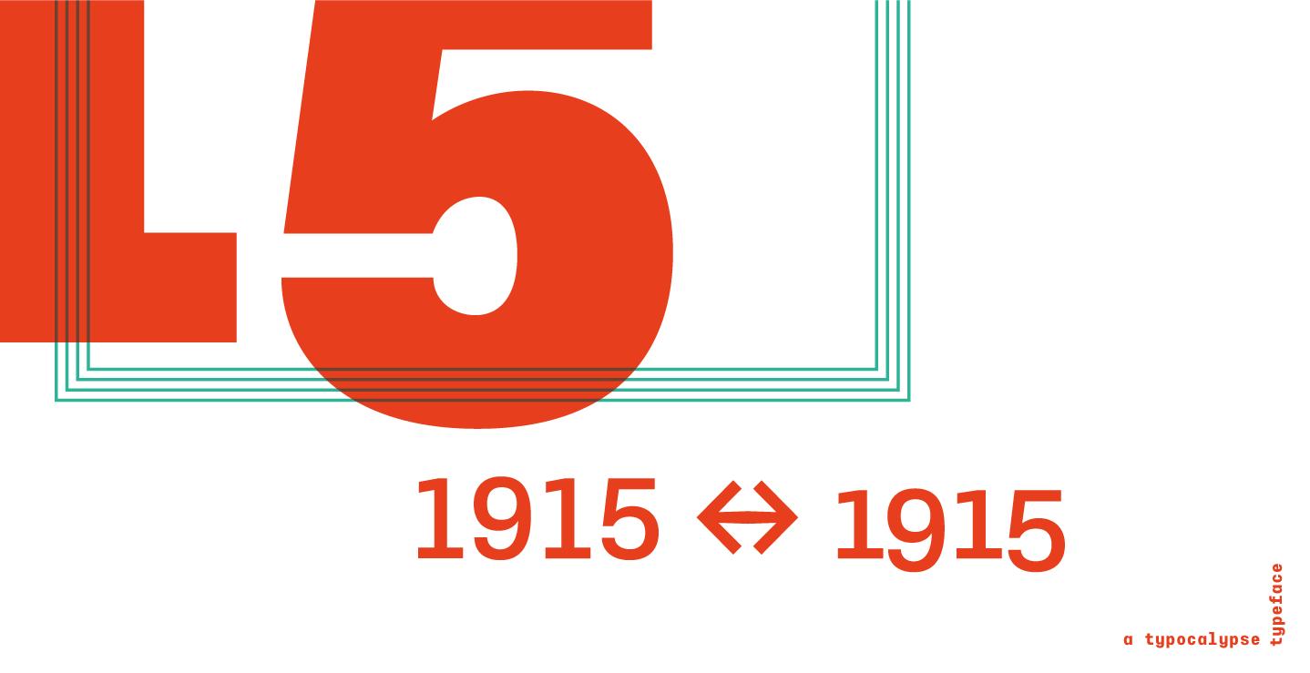 Typewalk 1915 Font Family