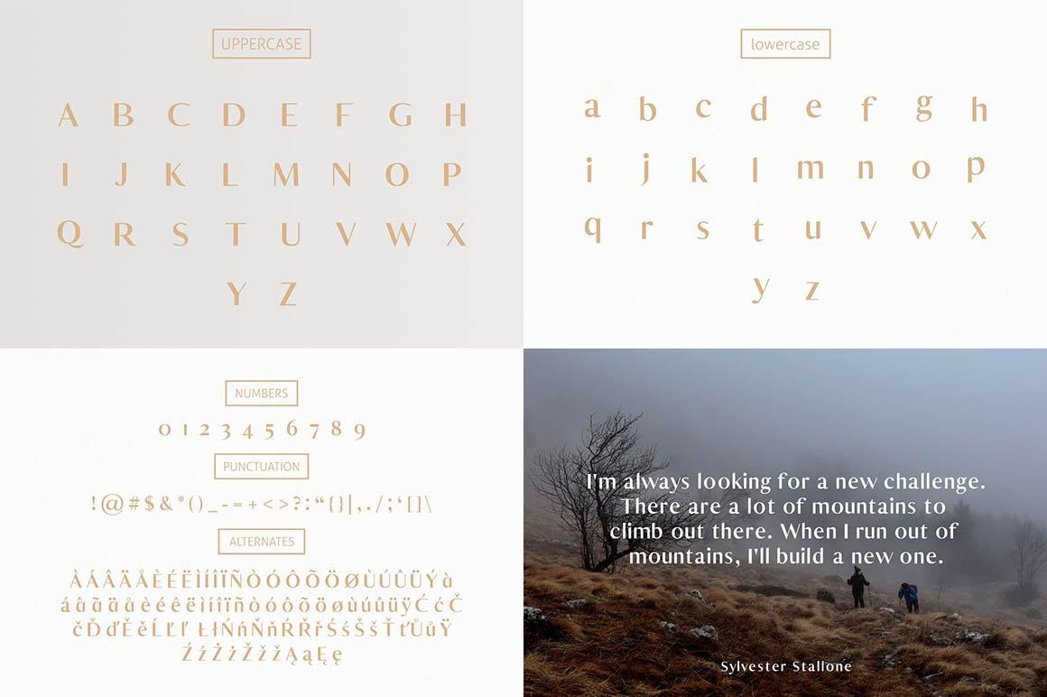 Yadon Typeface