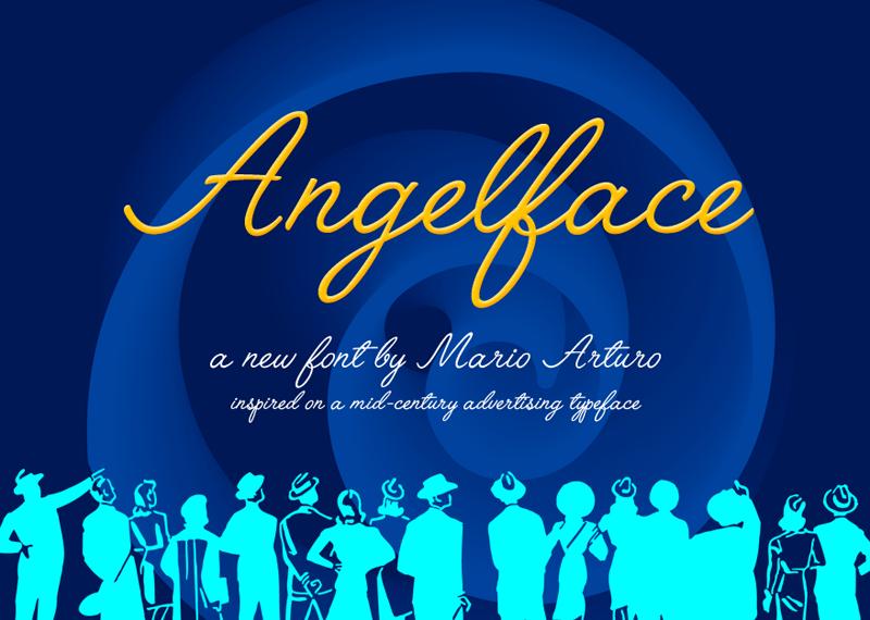 Angelface Script Font