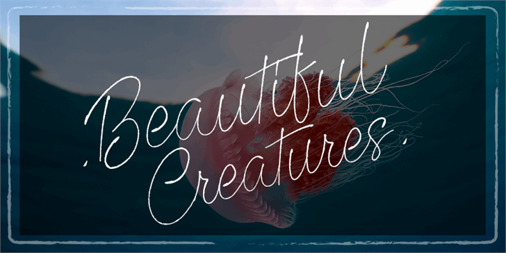 Beautiful Creatures Font