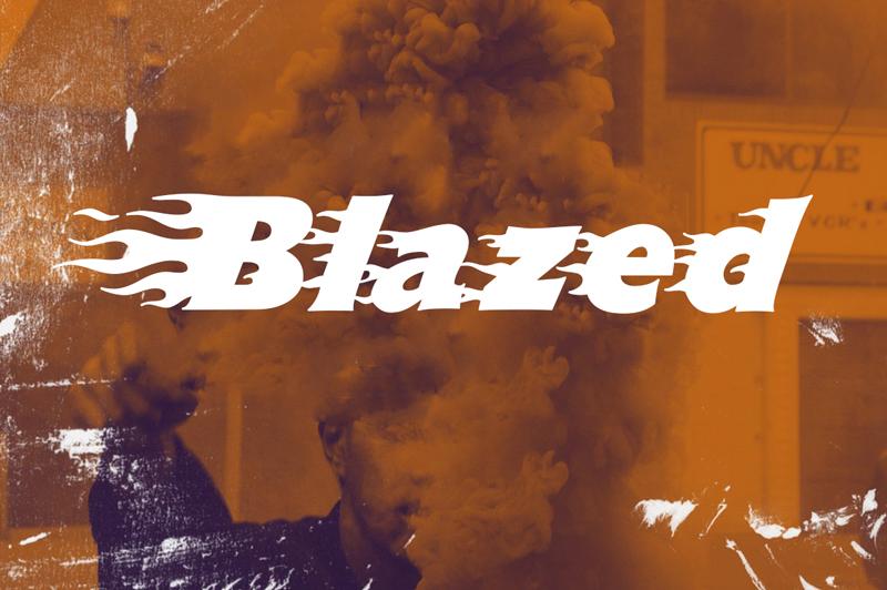 Blazed Font - Befonts.com