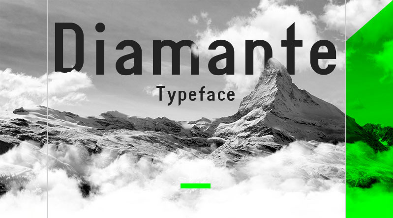 Diamante Typeface