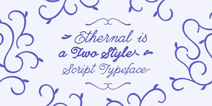 Ethernal Script Font