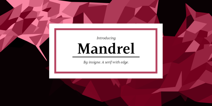 Mandrel Font Family