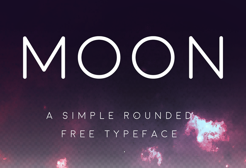 Moon Typeface - Befonts com