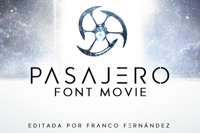 Pasajero Font - Befonts com