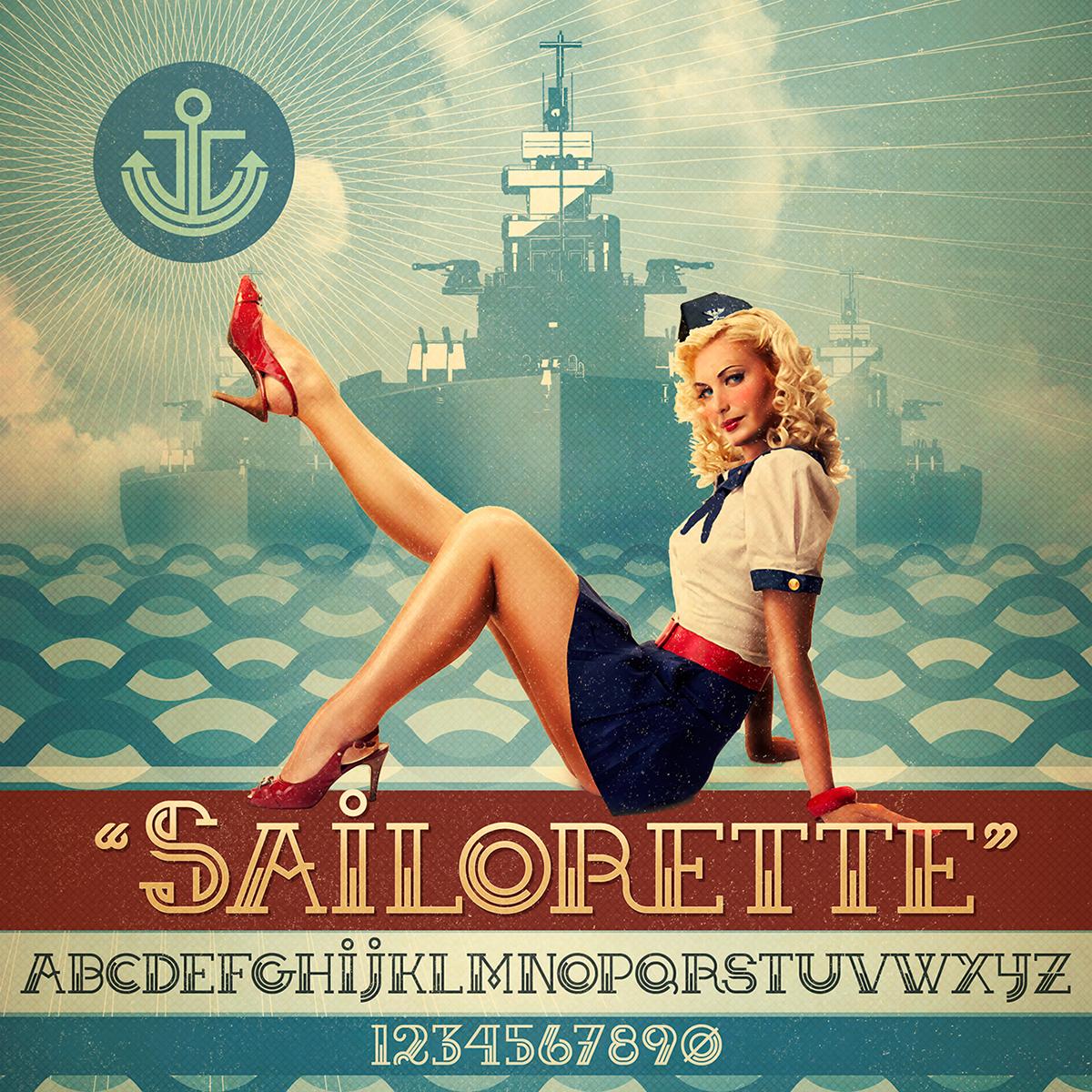 Sailorette Font