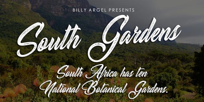 South Gardens Font