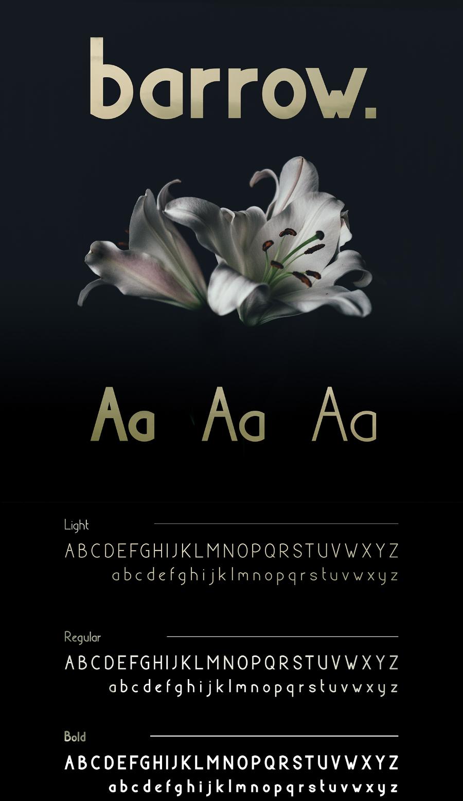 Barrow Typeface