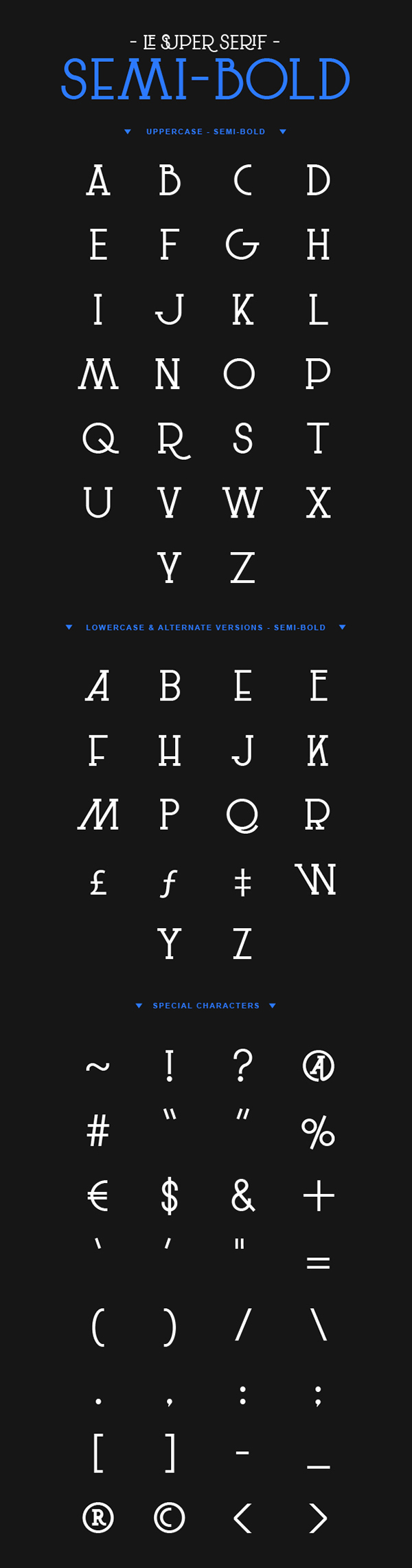 Le Super Serif Font