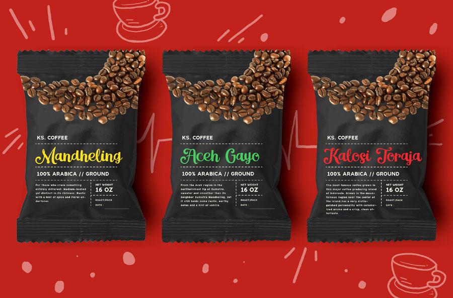 Magle Coffee Branding Script Font