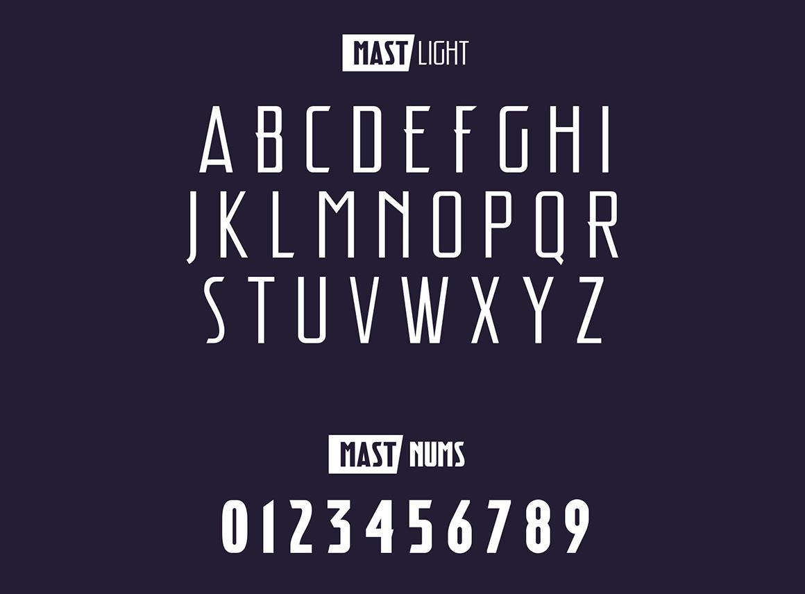 Mast Typeface