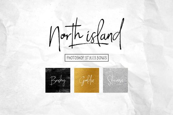 North Island Font