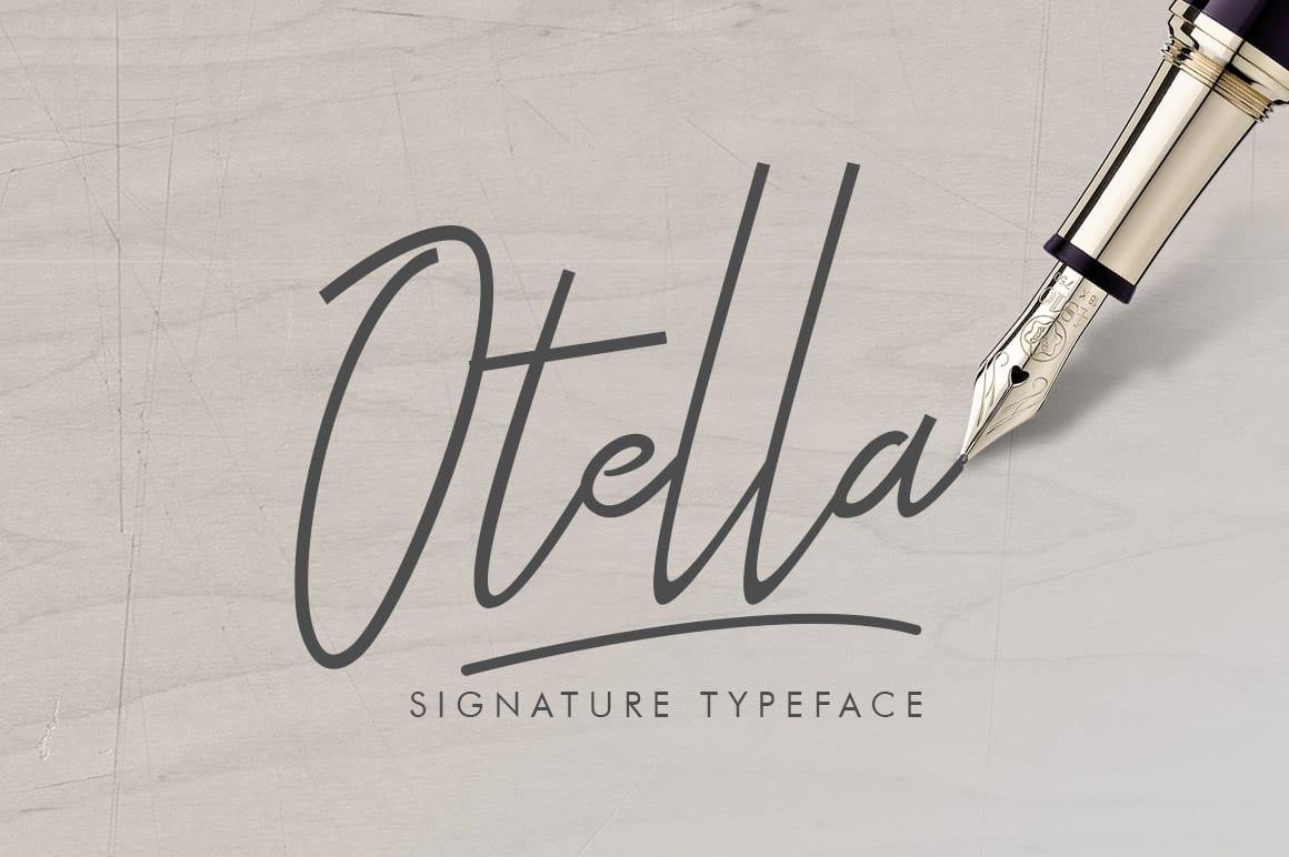 Otella befonts download free fonts