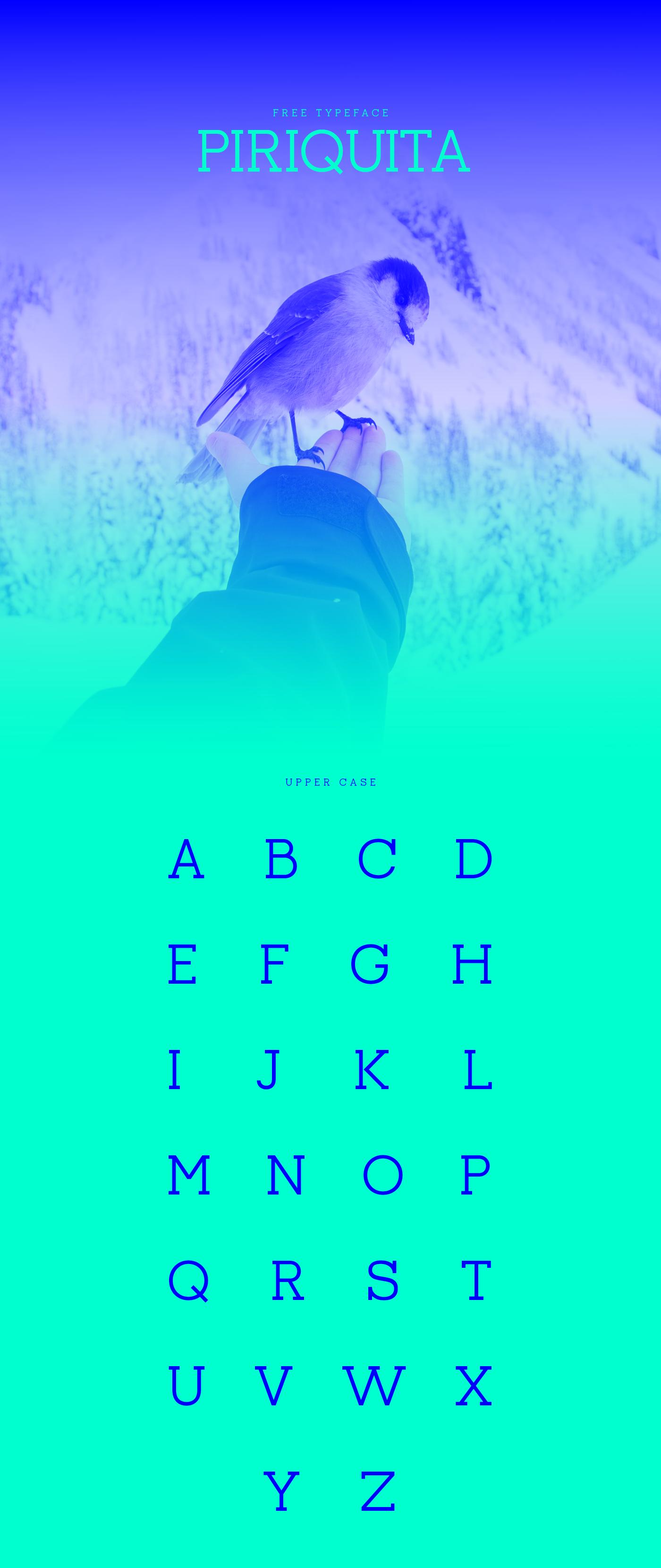 Piriquita Typeface