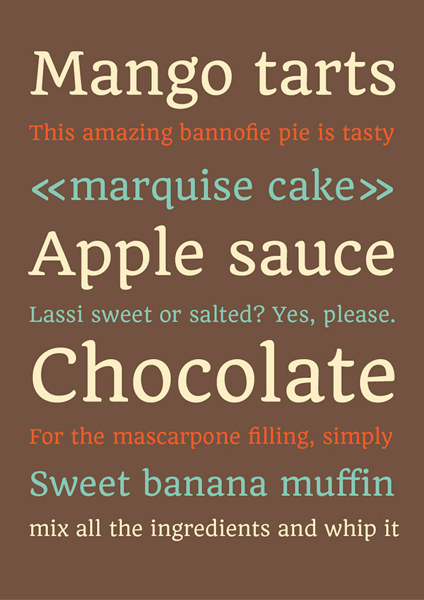 Quando Typeface - Google Fonts