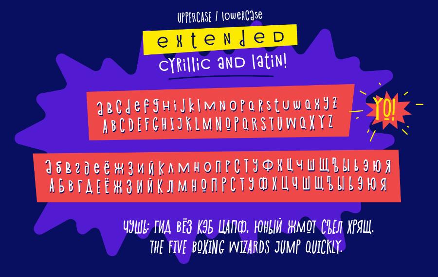 Shnobel Typeface