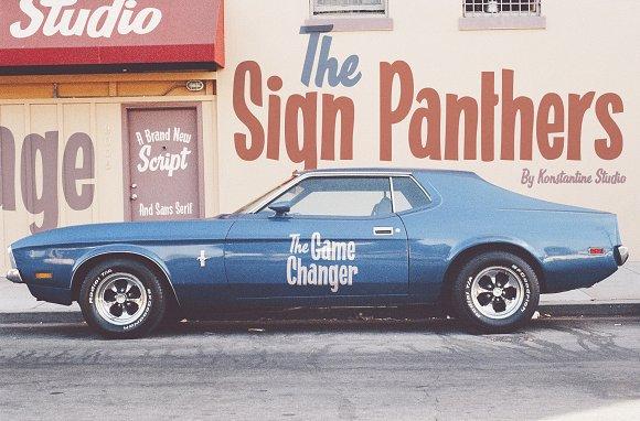 Sign Panters Script Font