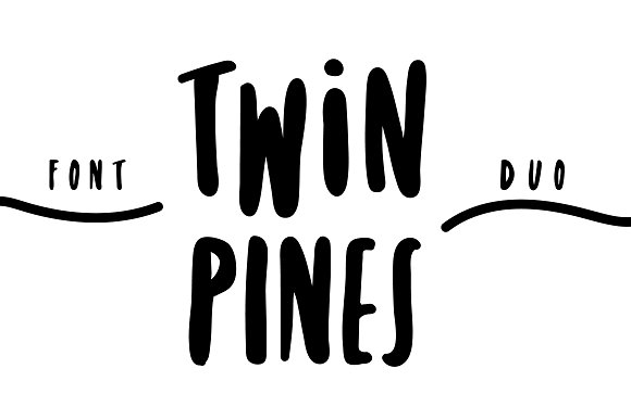 Twin pines font duo befonts twin pines font duo stopboris Images