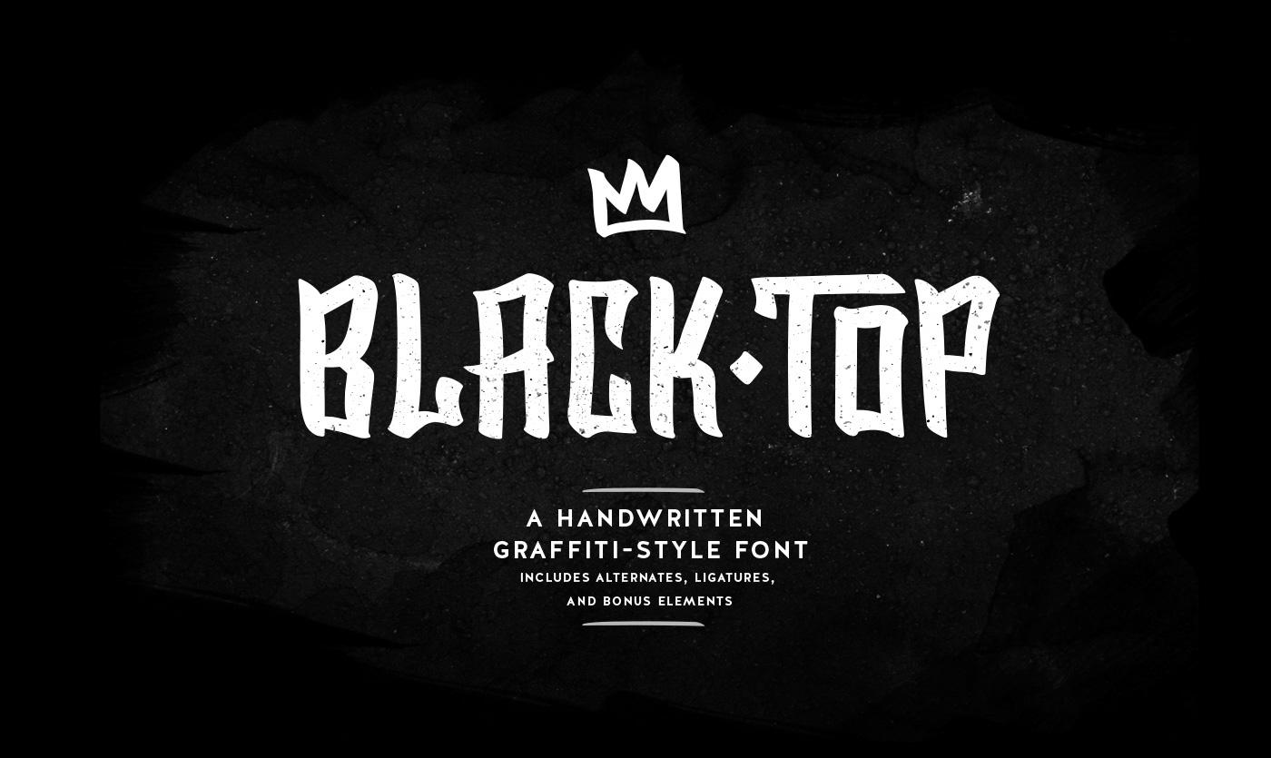 Blacktop font befonts com