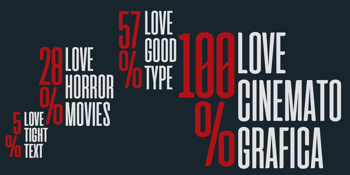 Cinematografica Font Family