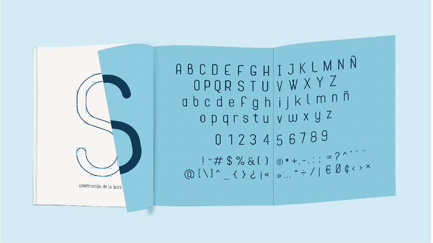 Cona Typeface