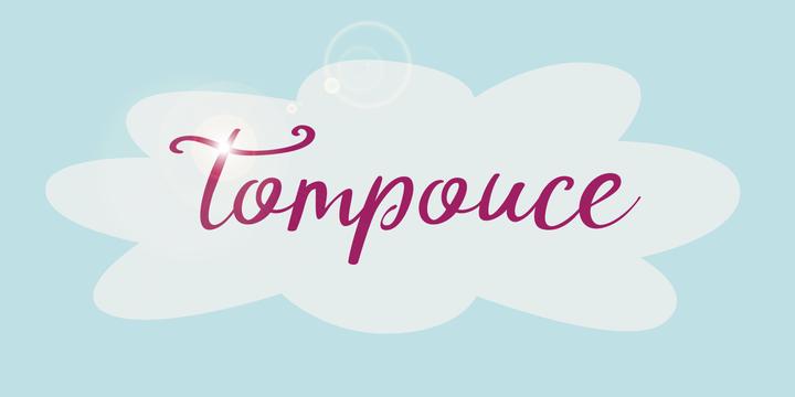 DK Tompouce Font