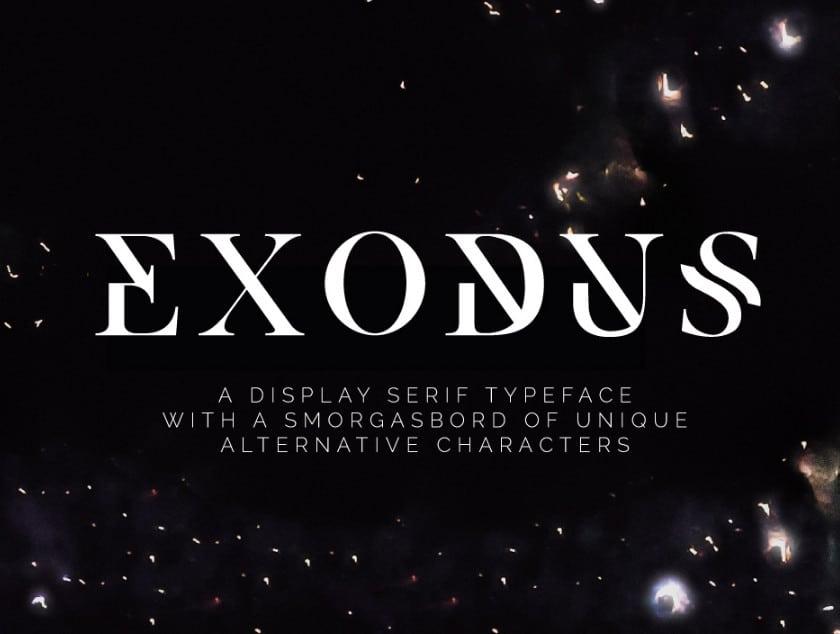 Bold Slab Serif Font