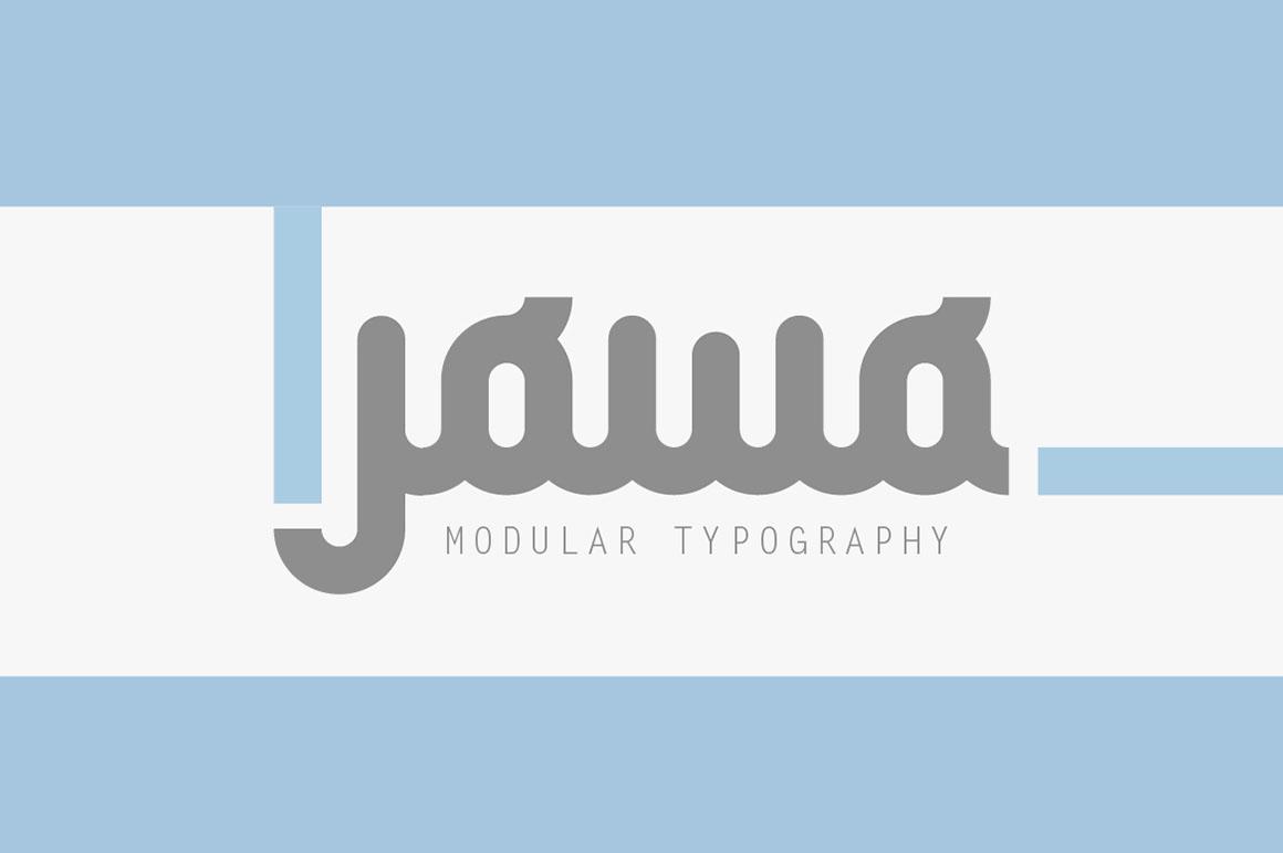 Jowo Typeface