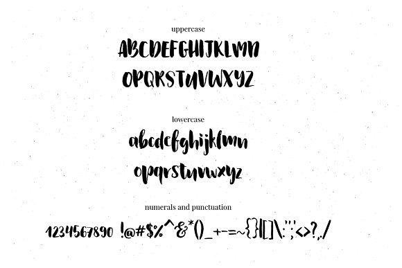 Le Fontaine Brush Font