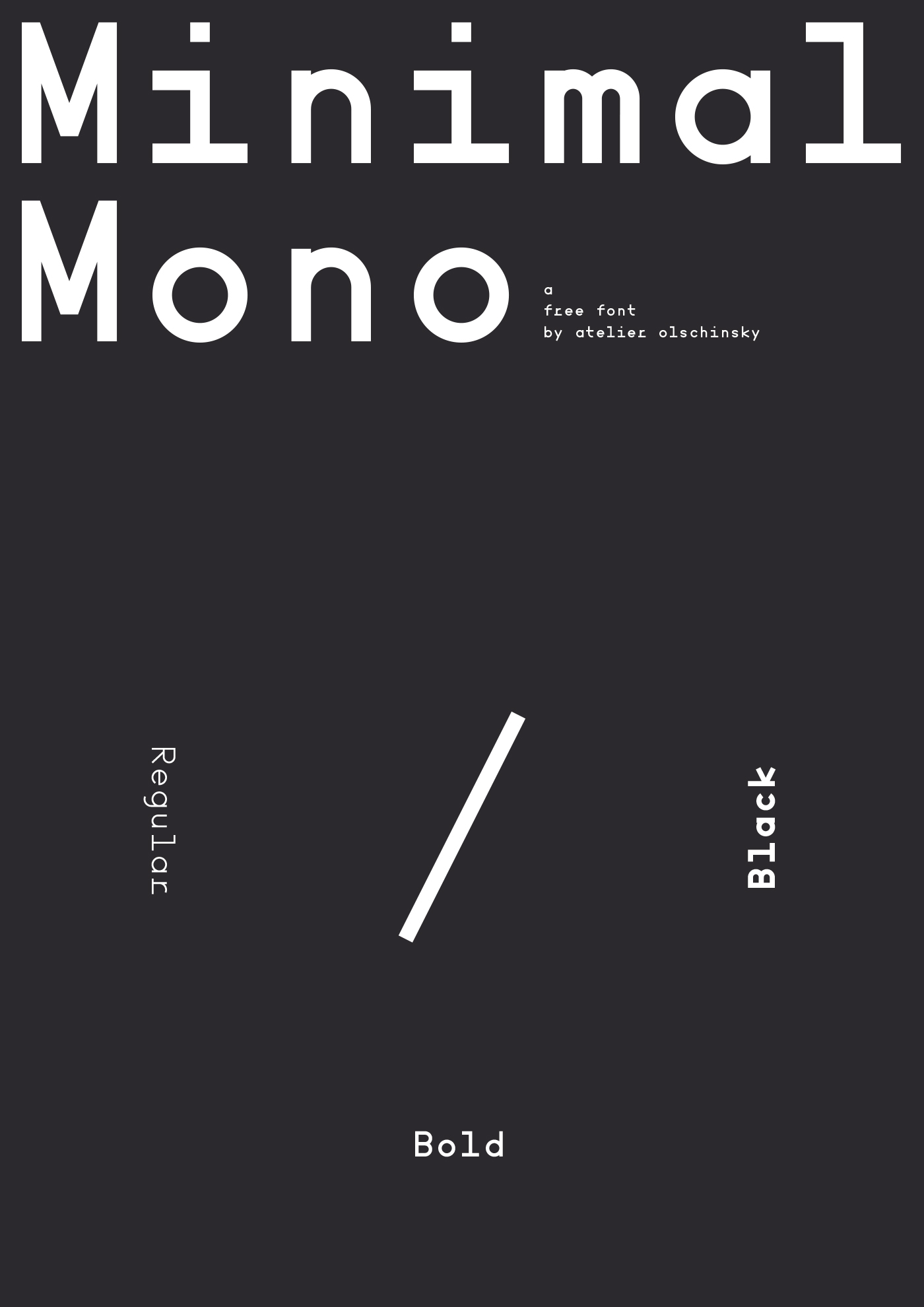 Minimal Mono Font