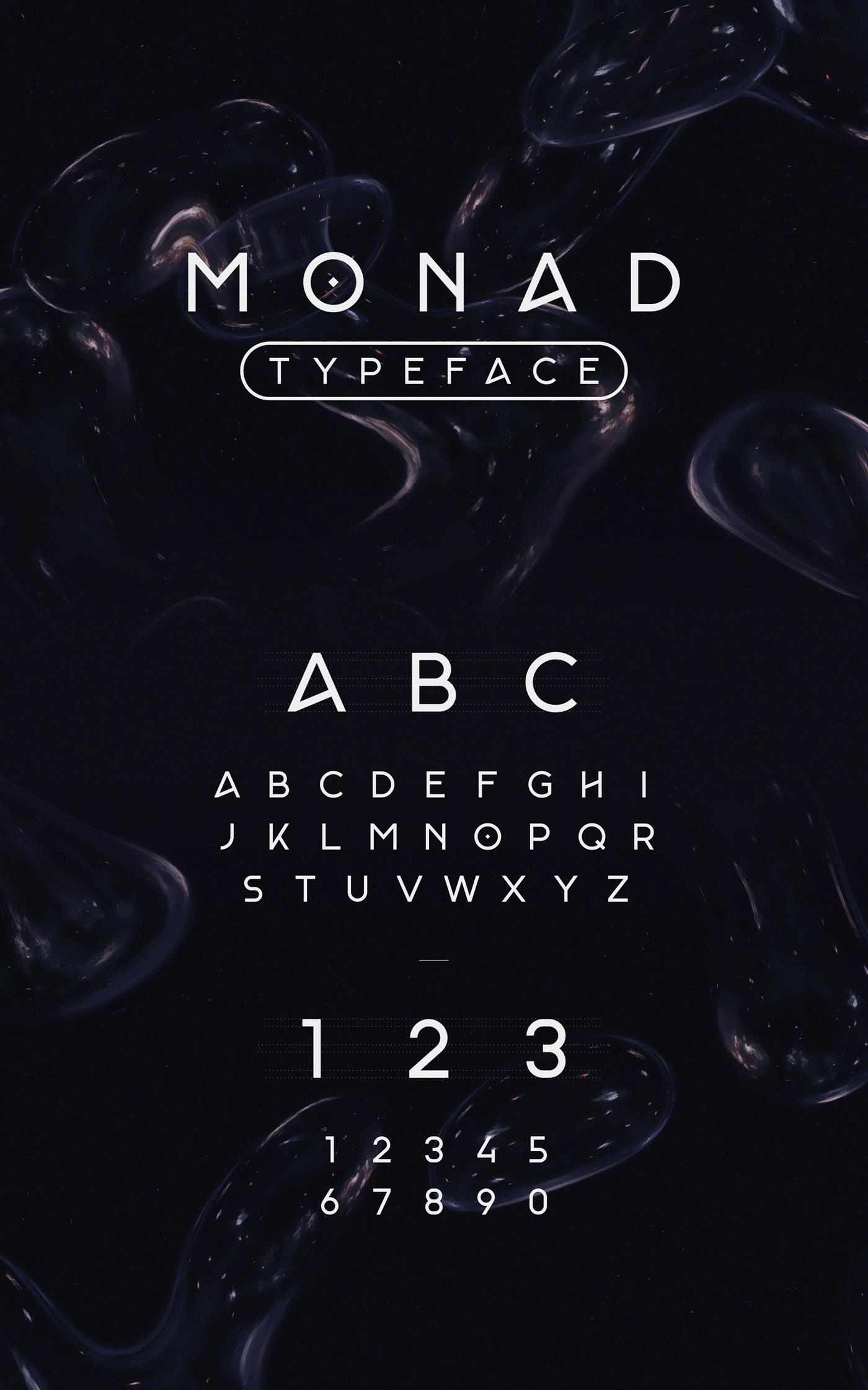 Monad Typeface