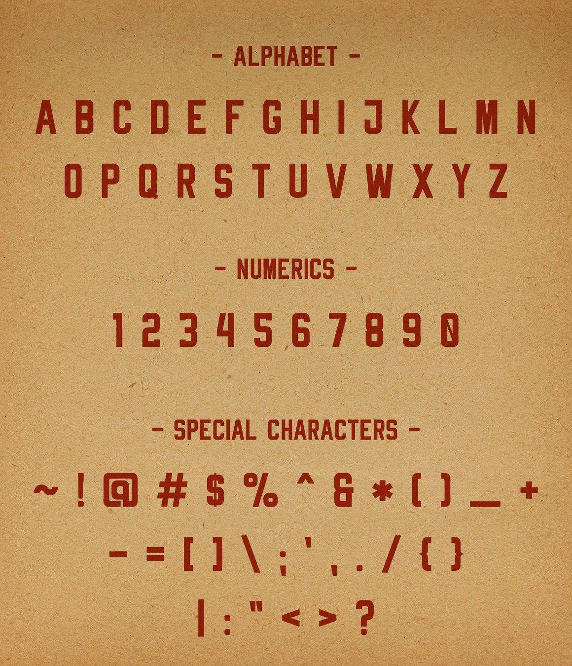 Rheiborn Typeface